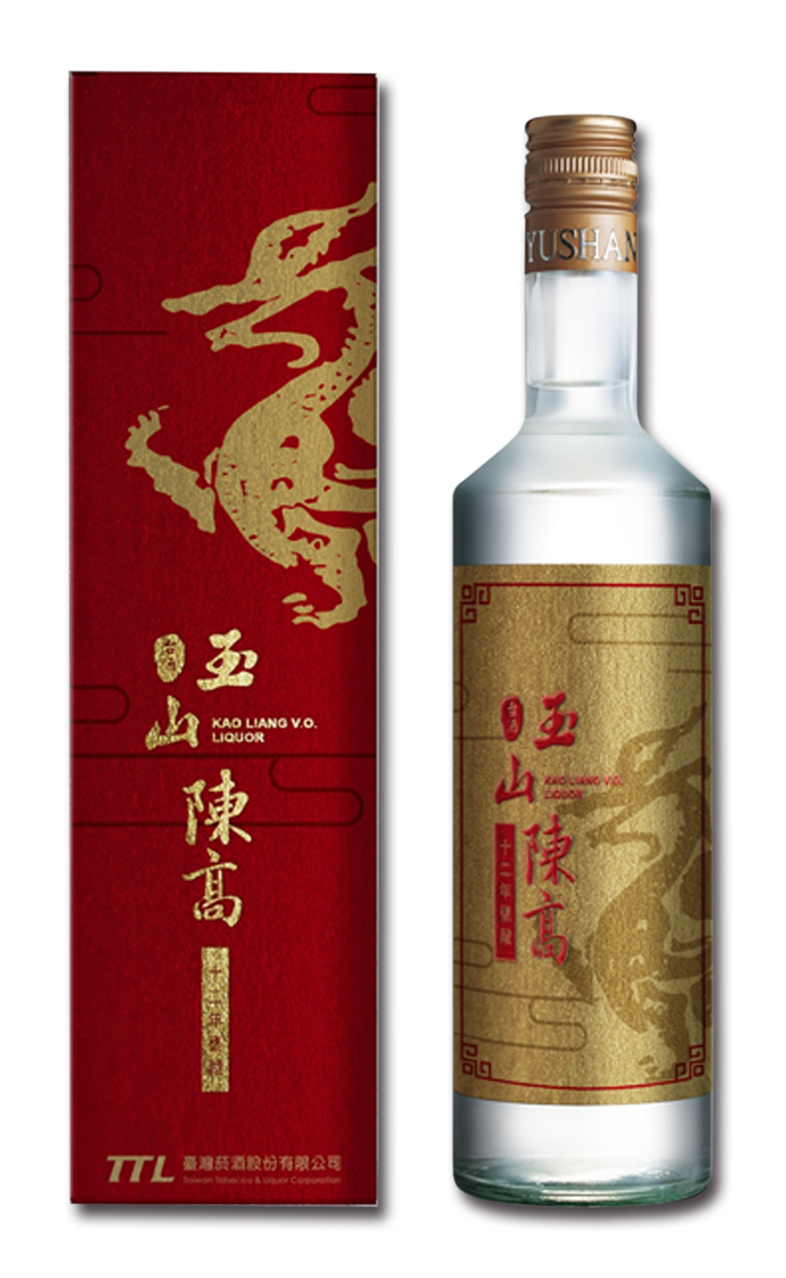 FEATURING PRODUCT IN APRIL-YUSHAN KAOLIANG LIQUOR AGED 12 YEARS(RED KI LIN)