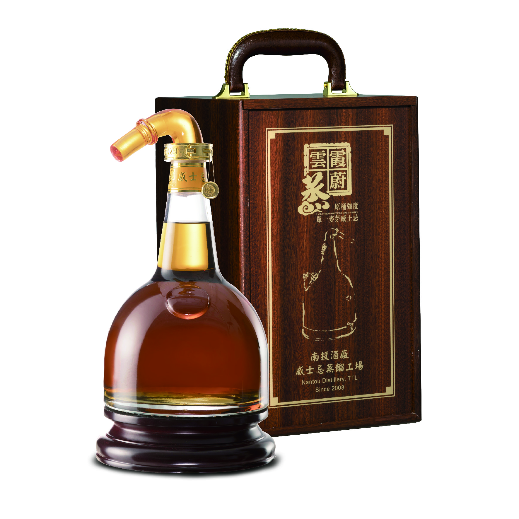 FEATURING PRODUCT IN AUGUST-1L Cask Strength Whisky