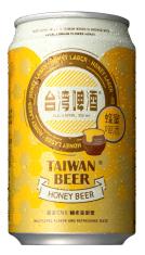 0.33公升罐裝台灣啤酒蜂蜜啤酒