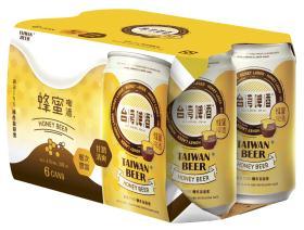 0.33公升*6罐裝台灣啤酒蜂蜜啤酒