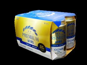 0.33公升*6入罐裝台灣啤酒PREMIUM(紙盒)
