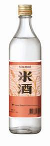 米酒0.6公升或0.75公升瓶裝