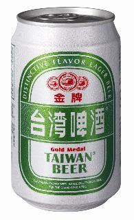 0.33公升罐裝金牌台灣啤酒