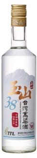 玉山三年38度台灣高粱酒(新版)