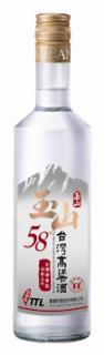 玉山三年58度台灣高粱酒(新版)