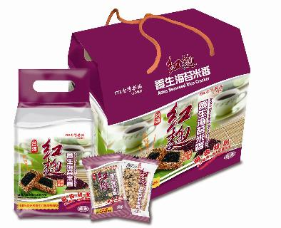 紅麴養生海苔米香