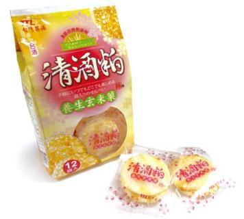 台酒清酒粕養生玄米菓(單包)