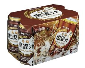 0.33公升*6罐裝烏梅黑麥汁