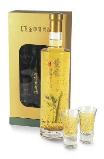 玉鶴黃金竹葉青酒禮盒