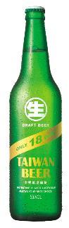 0.6公升瓶裝台灣生啤酒(18天)