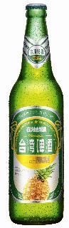 0.6公升瓶裝台灣啤酒水果系列(鳳梨)