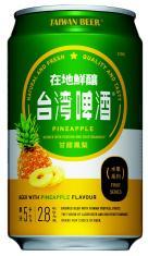0.33公升罐裝台灣啤酒水果系列(鳳梨)