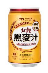 紅麴黑麥汁(罐裝)(0.33L)