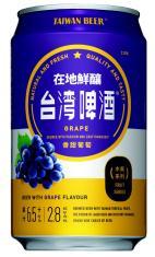 0.33公升罐裝台灣啤酒水果系列(葡萄)