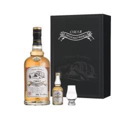 OMAR單一麥芽威士忌禮盒(波本花香)