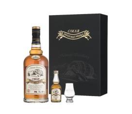 OMAR單一麥芽威士忌禮盒(雪莉果乾)