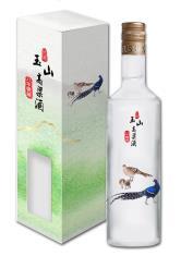 台酒玉山高粱酒八年甕藏(帝雉)(玻璃瓶)